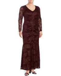 Marina - Lace Mermaid Dress - Lyst