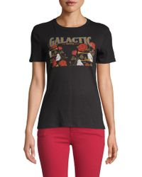 Mimi Chica - Galactic Cotton Tee - Lyst