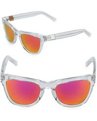 Westward Leaning - Pioneer 53mm Transparent Sunglasses - Lyst