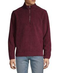Saks Fifth Avenue - Half-zip Pullover - Lyst