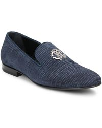 Roberto Cavalli - Plaintoe Slip-on Loafer - Lyst