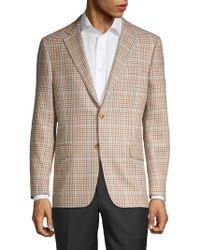 Hickey Freeman - Milburn Ii Regular-fit Wool, Silk & Linen Sportcoat - Lyst