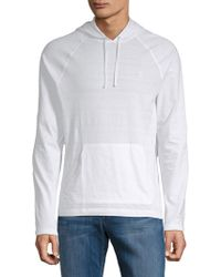 Original Penguin - Textured Cotton Hoodie - Lyst