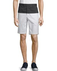 G/FORE - Colorblock Stretch Shorts - Lyst