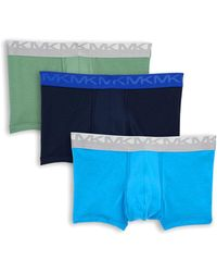 Michael Kors - Three-pack Logo Stretch Trunks - Lyst