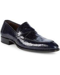 Mezlan - Sierpes Crocodile Dress Shoes - Lyst