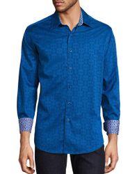 Robert Graham - Cullen Cotton Button-down Shirt - Lyst