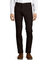 Porsche Design - Solid Cotton Pants - Lyst