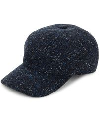 Saks Fifth Avenue - Tweed Baseball Cap - Lyst