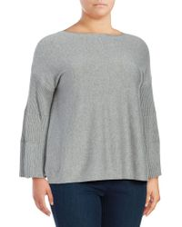 Vince Camuto - Long Bell-sleeve Jumper - Lyst