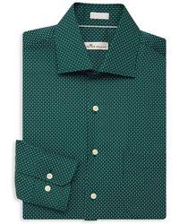Peter Millar - Printed Dress Shirt - Lyst