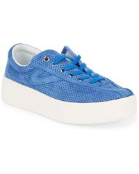 Tretorn - Nylite Bold Iii Perforated Platform Trainers - Lyst