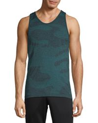 HPE - Camouflage Seamless Tank Top - Lyst