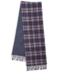 Saks Fifth Avenue - Johnstons Of Elgin Plaid Merino Wool & Cashmere Scarf - Lyst