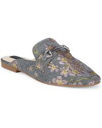 Steven by Steve Madden - Rilee-e Floral Embroidery Mules - Lyst