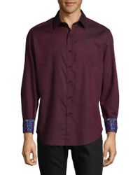 Robert Graham - Niagara Cotton Casual Button-down Shirt - Lyst