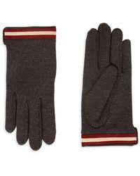 Bally - Wool-blend Gloves - Lyst