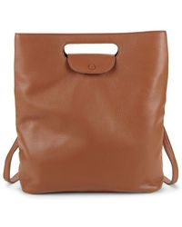 Steven Alan - Cody Leather Convertible Backpack - Lyst