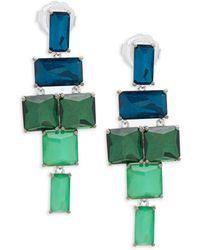 Ippolita - 925 Rock Candy Stacked Linear Post Drop Earrings In Taffeta - Lyst