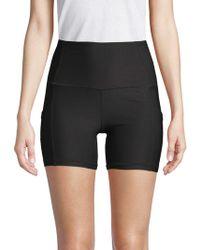 Reebok - High-rise Active Shorts - Lyst