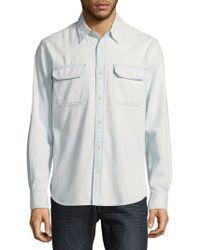Jean Shop - Kevin Pool Cotton Button-down Shirt - Lyst