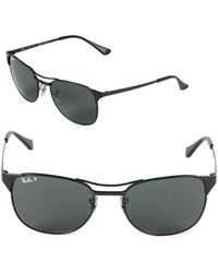 Ray-Ban - 55mm Polarized Signet Sunglasses - Lyst