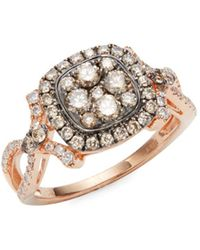 Effy - 14k Rose Gold & Diamond Ring - Lyst