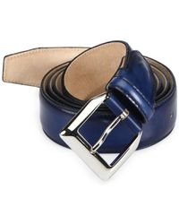 Sutor Mantellassi - Tyler Master Adjustable Leather Belt - Lyst
