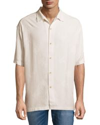 Tommy Bahama - Aloha Silk Floral Button-down Shirt - Lyst