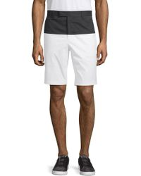 G/FORE - Colorblock-print Shorts - Lyst