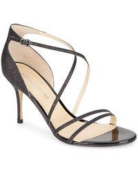 Ivanka Trump - Garis Glitter Sandals - Lyst