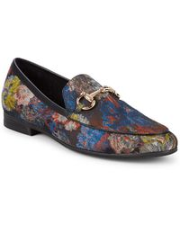 Steve Madden - Brocade Smoking Slippers - Lyst