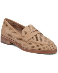 Vince Camuto - Kanta Perforated Loafers - Lyst