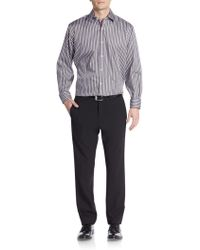 Bugatchi - Classic-fit Striped Sportshirt - Lyst