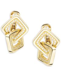 Chimento - Link Diana Diamond & 18k Yellow Gold Earrings - Lyst