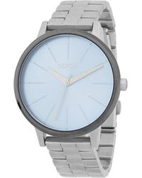 Nixon - Kensington Stainless Steel Quartz Bracelet Watch - Lyst