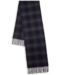 Saks Fifth Avenue - Check Cashmere Scarf - Lyst
