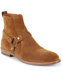 Bally - Hofman Suede Ankle Boots - Lyst