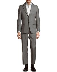 Façonnable - Notch Lapel Wool Suit - Lyst