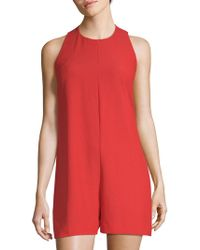 French Connection - Sleeveless Romper - Lyst