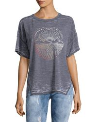 Free People - Graphic Jordan Tee - Lyst