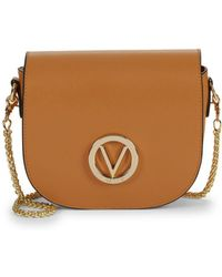 Valentino - Josette Leather Chain Saddle Bag - Lyst