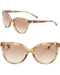 Michael Kors - 55mm Cat Eye Sunglasses - Lyst