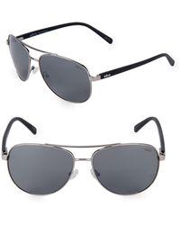 Revo - 61mm Aviator Sunglasses - Lyst