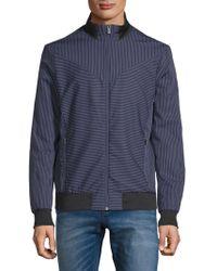 Calvin Klein - Insignia Stripe Jacket - Lyst