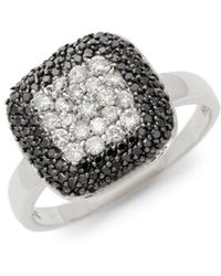 Effy - 14k White Gold & Diamond Ring - Lyst