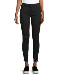 J Brand - Houlihan Ripped Cargo Ankle Pants - Lyst
