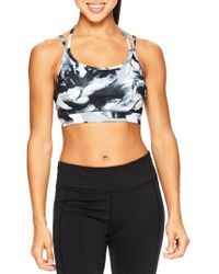 Gaiam - Grace-print Liv Sports Bra - Lyst