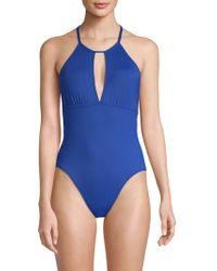 La Blanca - Goddess One-piece Strappy Swimsuit - Lyst