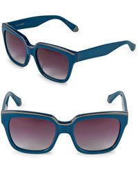 Zac Posen - Nico 56mm Square Sunglasses - Lyst